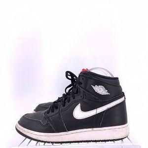 Nike Air Jordan 1 Yin Yang Black Boys Size 5y